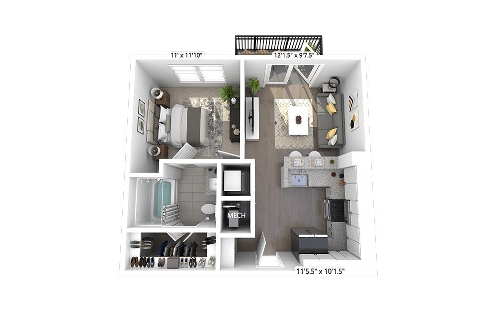 A1 Floorplan Image