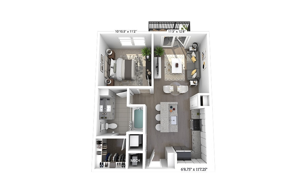 A2 Floorplan Image