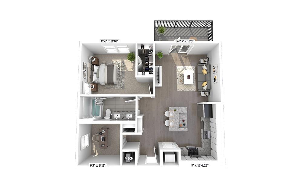 A6 Floorplan Image