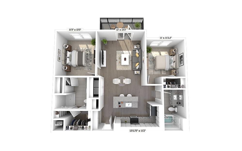 B2 Floorplan Image