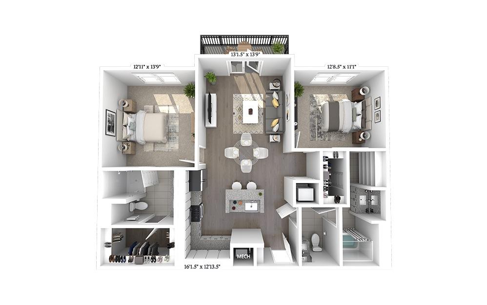B3 Floorplan Image