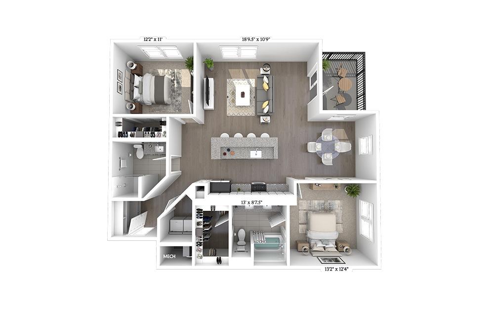 B4 Floorplan Image