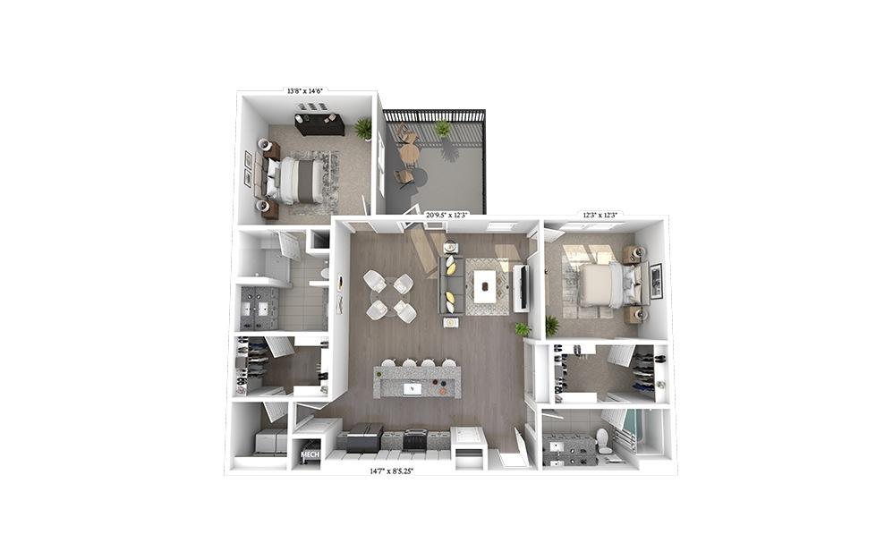 B5 Floorplan Image