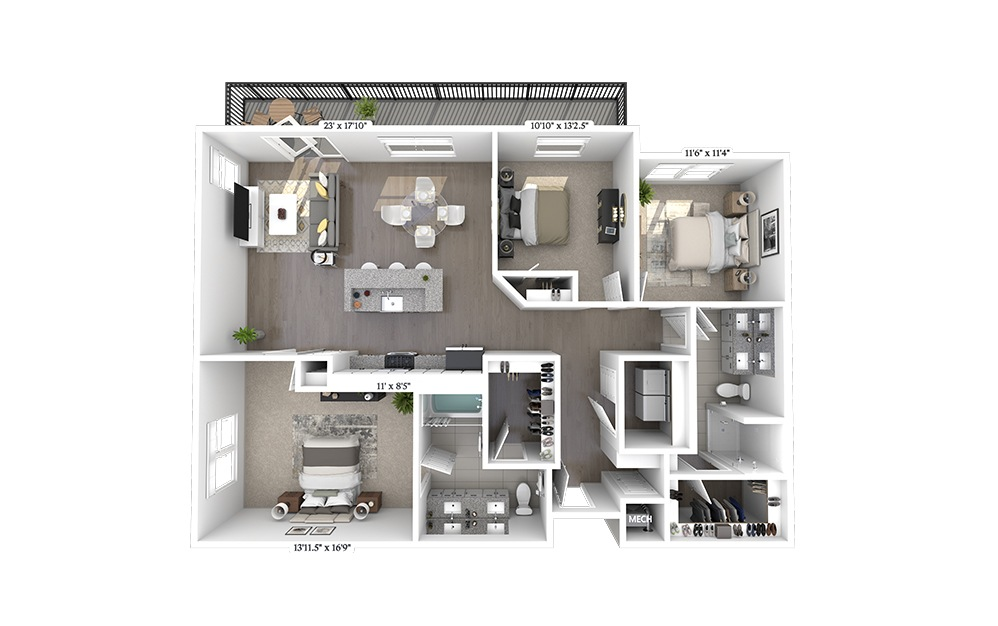 C1a Floorplan Image