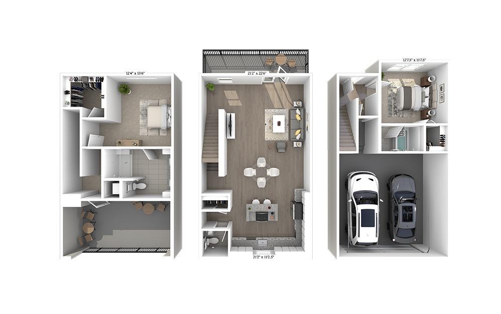 TH 1 Floorplan Image