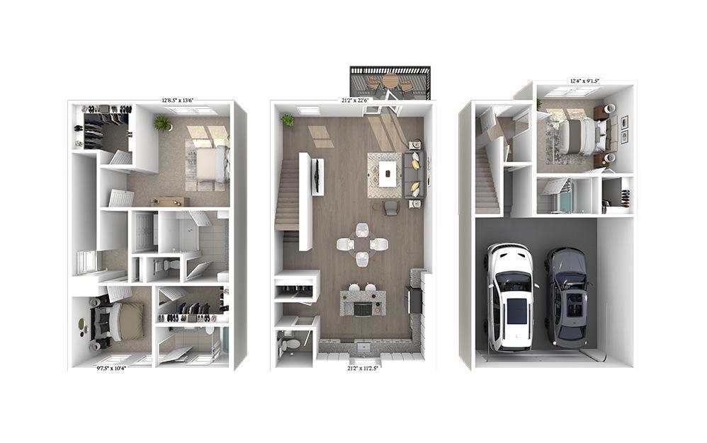 TH 2 Floorplan Image
