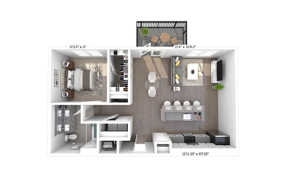A4 Floorplan Image